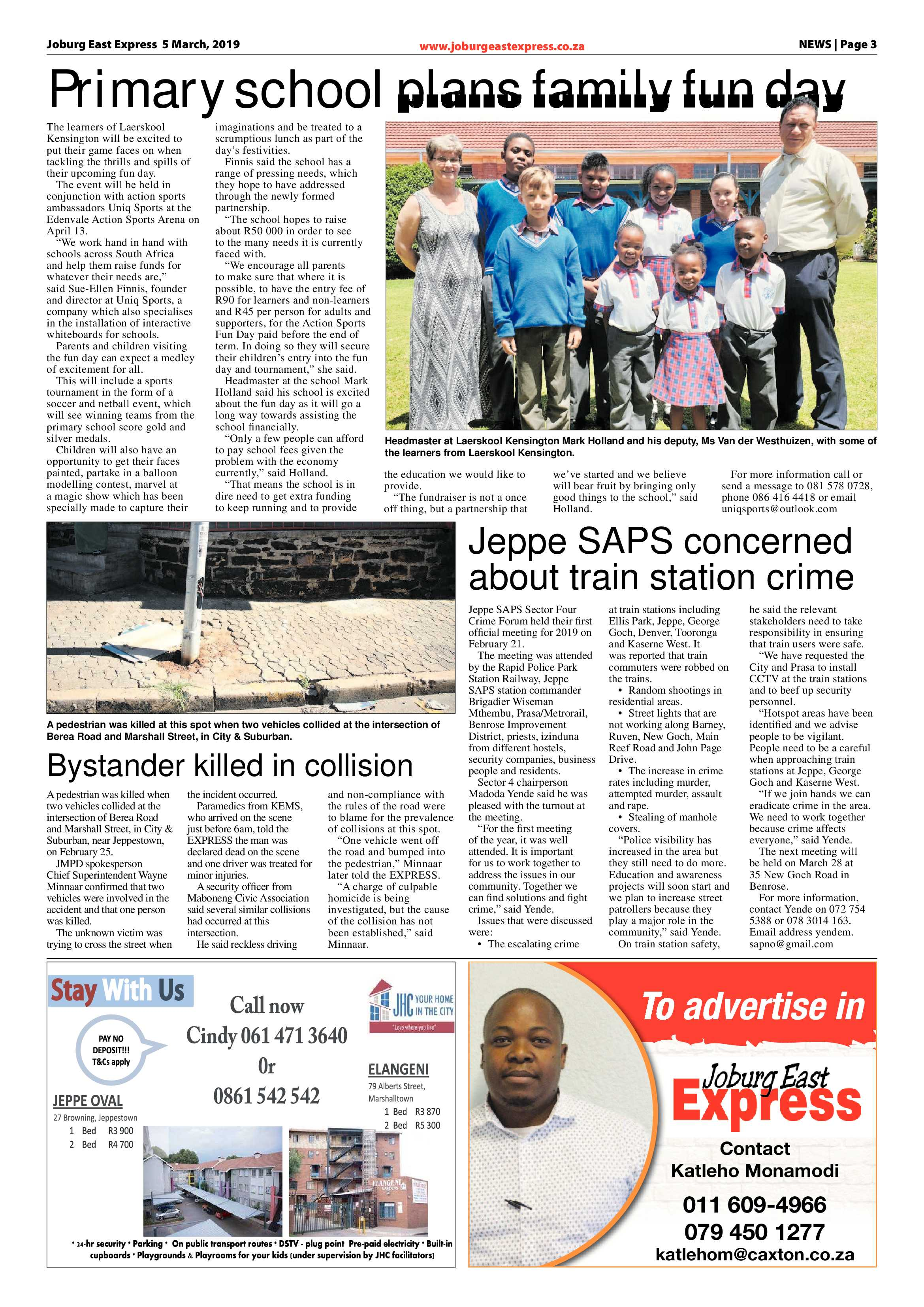 Joburg East Express 05 March 2019 | Joburg East Express
